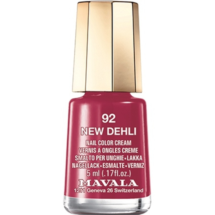 - mini color vernis à ongles new dehli 92 - 5ml Mavala-147082