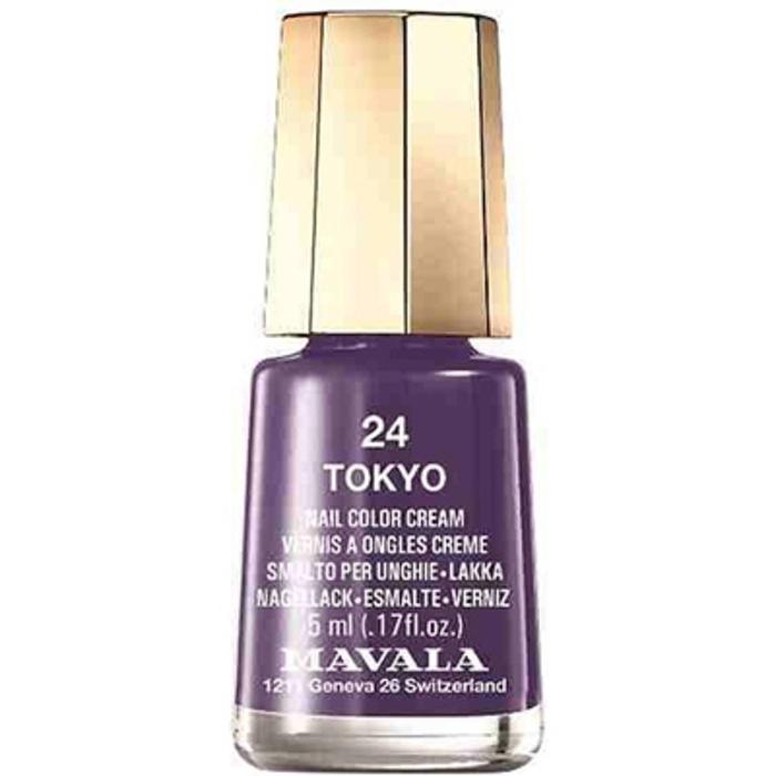 - mini color vernis à ongles tokyo 24 - 5ml Mavala-147016