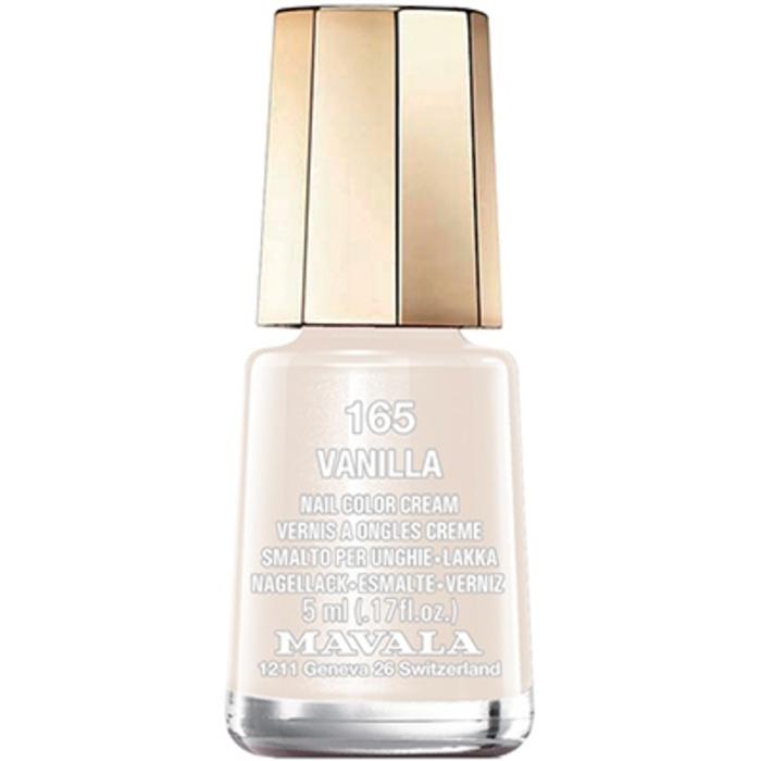 - mini color vernis à ongles vanilla 165 - 5ml Mavala-147165