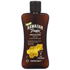 Mini huile sèche solaire spf8 100ml - hawaiian tropic -195707