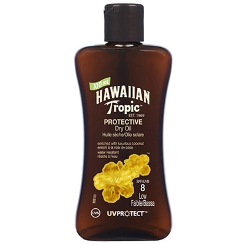 Mini huile sèche solaire spf8 - hawaiian tropic -195707