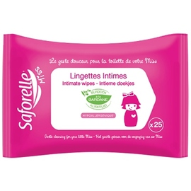 Miss lingettes intimes x25 - saforelle -205931