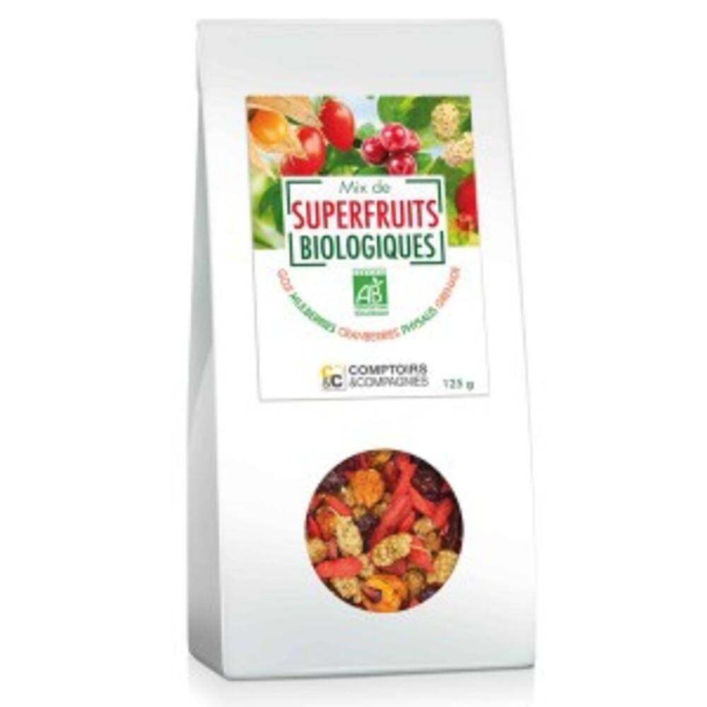 Mix de superfruits bio - 125 g - divers - comptoirs & compagnies -141900