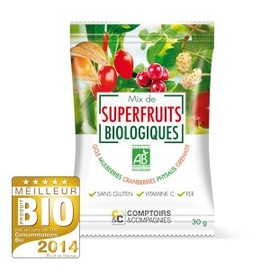 Mix de superfruits bio - 30 g - divers - comptoirs & compagnies -141898