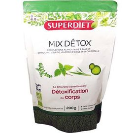 Mix détox bio vegan 200g - super diet -221696