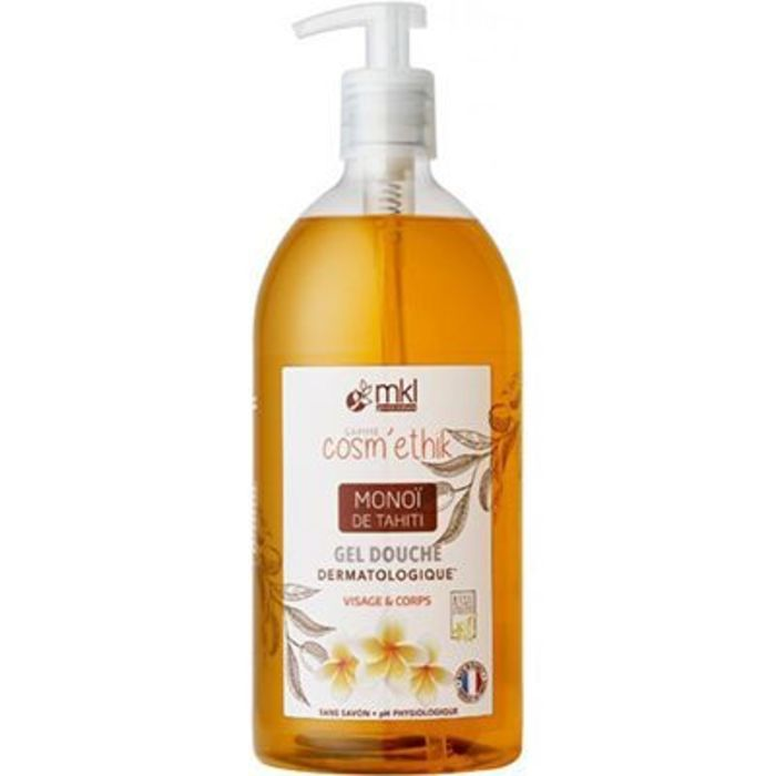 Mkl green nature gel douche monoï de tahiti 1l Mkl-221560
