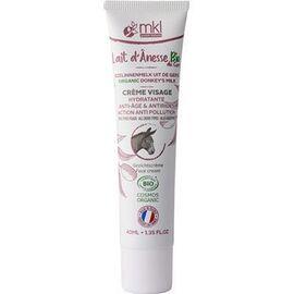 Mkl green nature lait d'anesse bio crème visage - 40.0 ml - mkl -225129