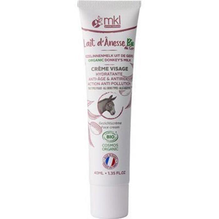 Mkl green nature lait d'anesse bio crème visage 40ml Mkl-225129