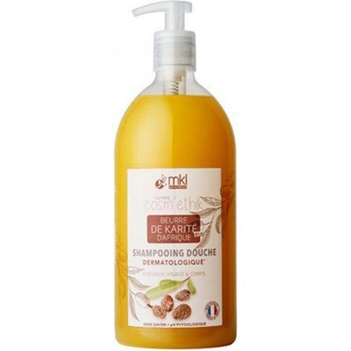 Mkl green nature shampooing douche karité d'afrique 1l Mkl-221565