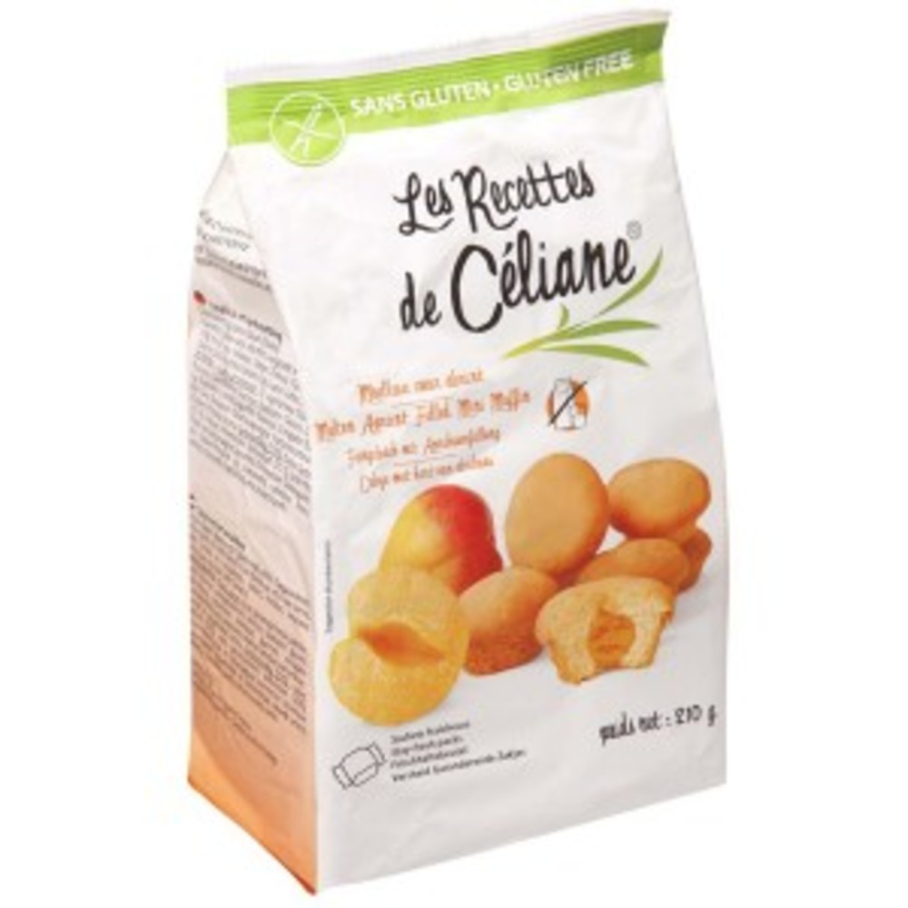 Moelleux coeur abricot - 210 g - divers - les recettes de celiane -136737