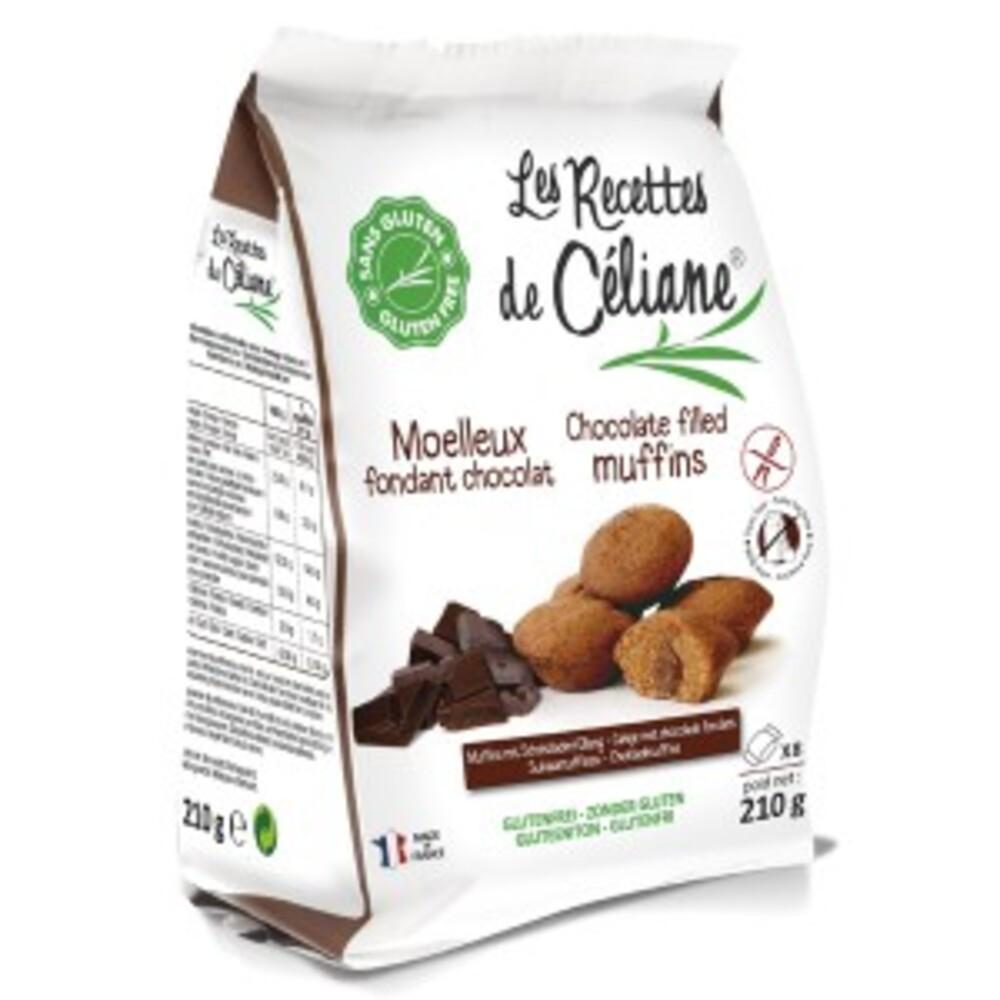Moelleux coeur chocolat - 210 g - divers - les recettes de celiane -136739