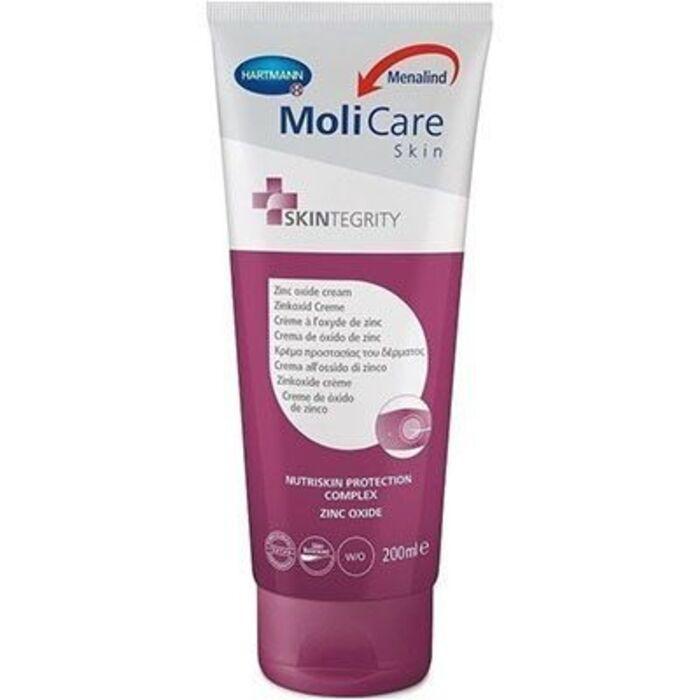 Molicare skin crème à l'oxyde de zinc 200ml Hartmann-222446