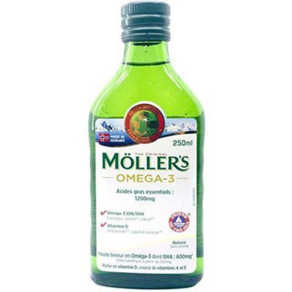 Moller's omega 3 nature 250ml - mollers -223396