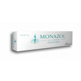 Monazol 2% crème - 15g - 15.0 g - theramex -193225