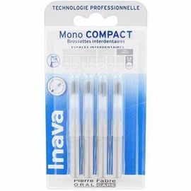 Mono compact très large 2,6mm - 4 brossettes interdentaires - 4.0 u - inava -224869