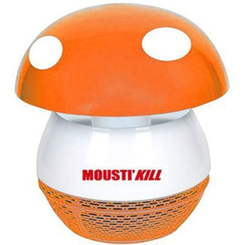 Mousti'kill lampe chevet anti-insectes super coccinelle orange - mousti-kill -221905