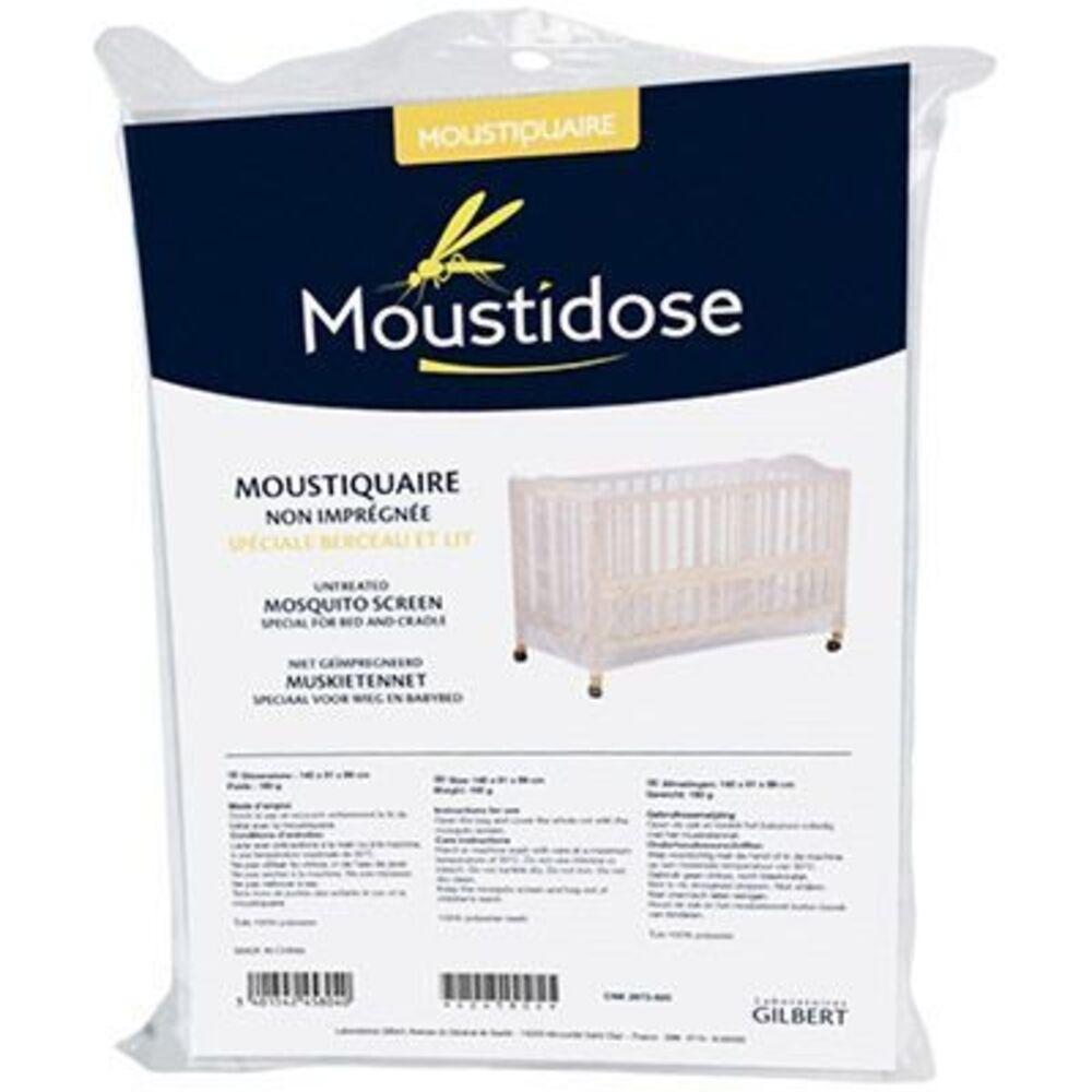 Moustiquaire non imprégnée berceau et lit - moustidose -178707