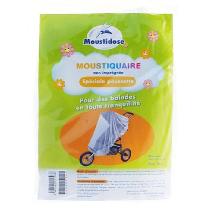 Moustiquaire non imprégnée poussette Moustidose-178708