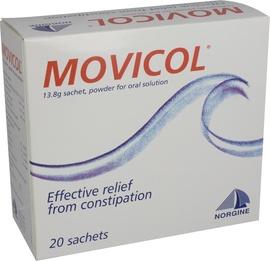 Movicol  citron- 20 sachets - norgine pharma -193542
