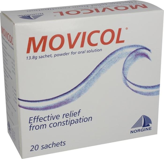 Movicol  citron- 20 sachets Norgine pharma-193542