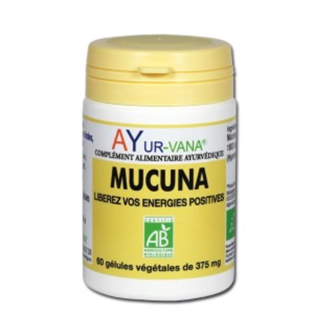 Mucuna bio - 60 gélules végétales - divers - ayur-vana -141715