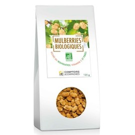 Mulberries bio - 125 g - divers - comptoirs & compagnies -143296