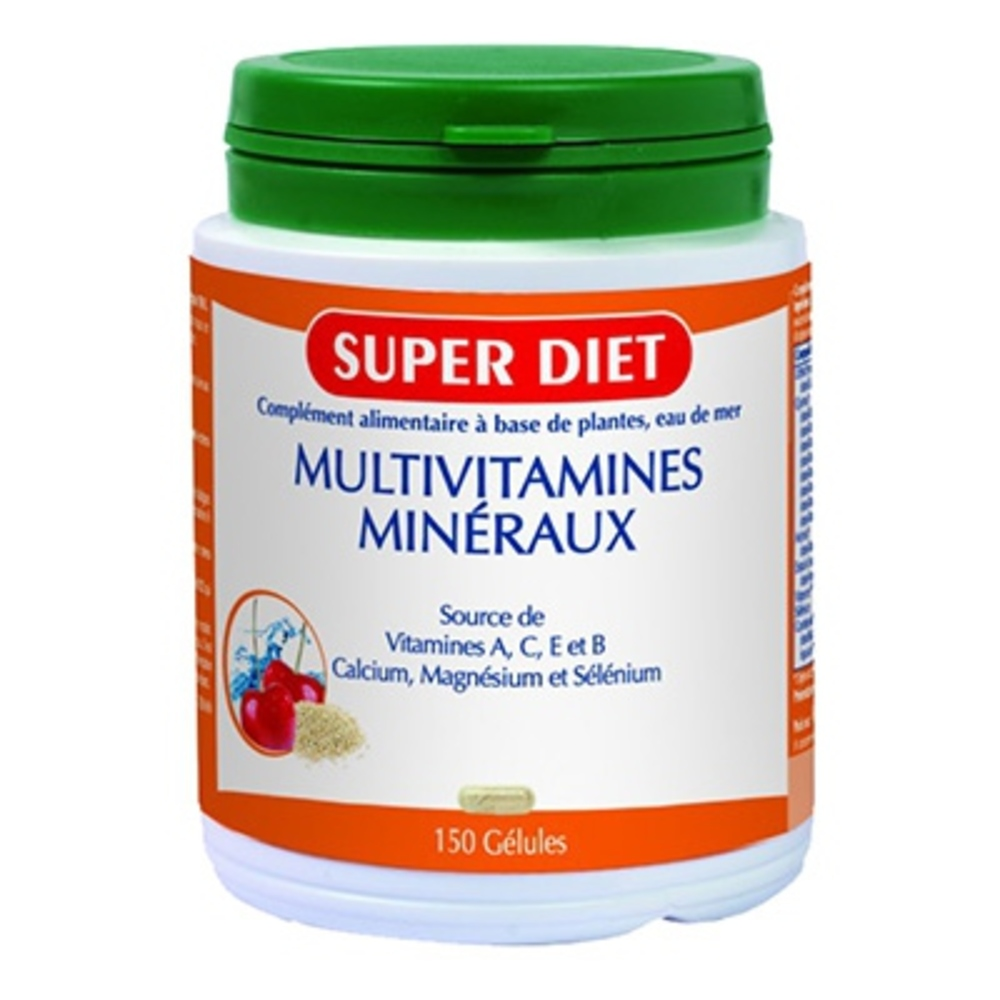 Multivitamines minéraux Super diet-4513