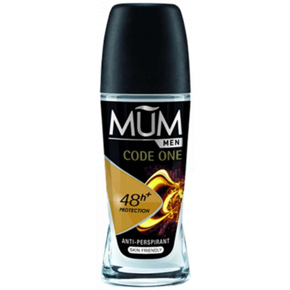 Mum men code one déodorant roll-on 50ml - mum -219694