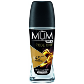 Mum men code one déodorant roll-on 50ml - mum -219694