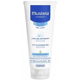 Mustela 2 en 1 gel nettoyant - 200ml - 200.0 ml - mustela -191948