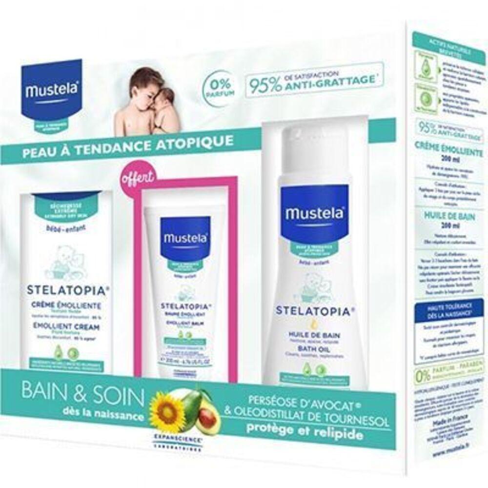 Mustela coffret bébé peaux atopiques Mustela-220299