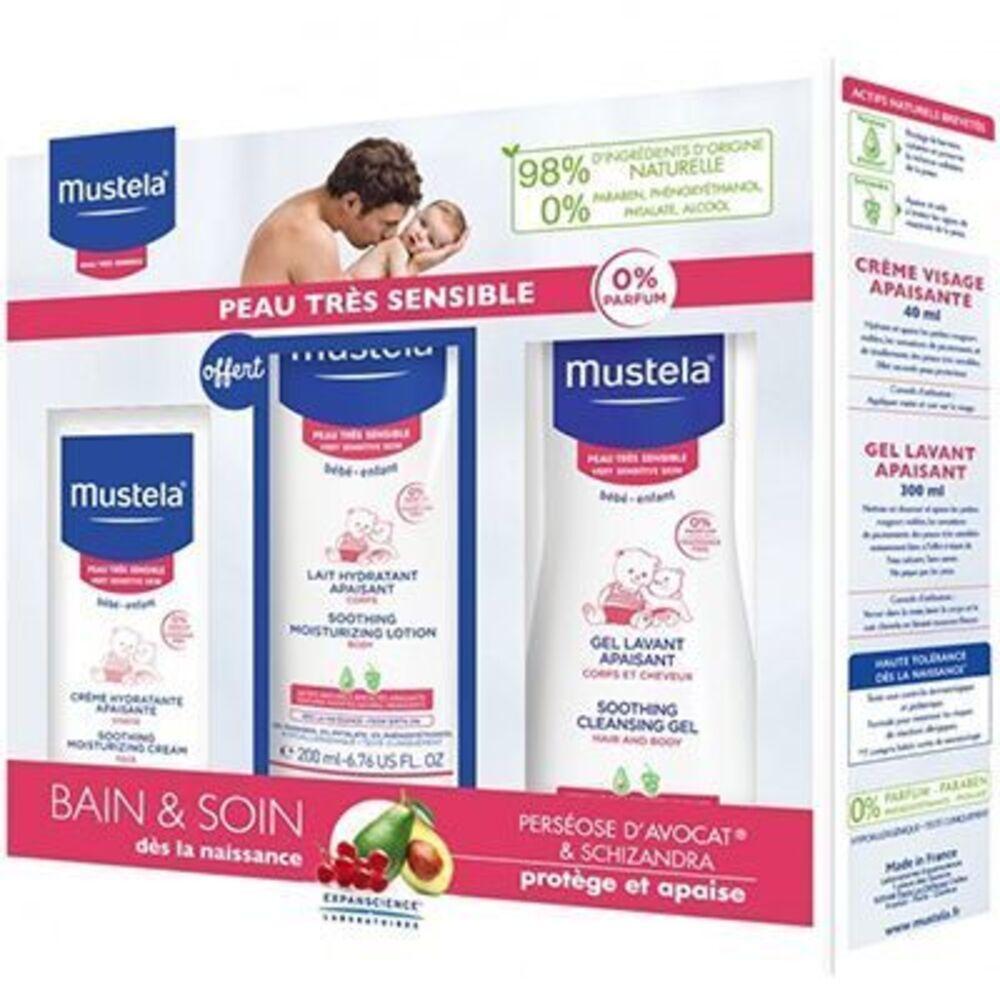 Mustela coffret bébé peaux très sensibles Duurat-220302