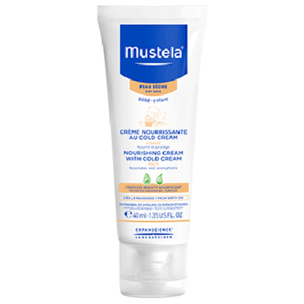 Mustela crème nourrissante au cold cream - 40ml - mustela -194708