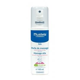 Mustela huile de massage - 110.0 ml - soin - mustela Apaise, hydrate, protège-113