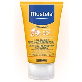 Mustela lait solaire spf50+ - 100ml - 100.0 ml - solaire - mustela -140758
