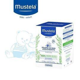 Mustela poudre de bain adoucissante 6x30g - mustela -223639