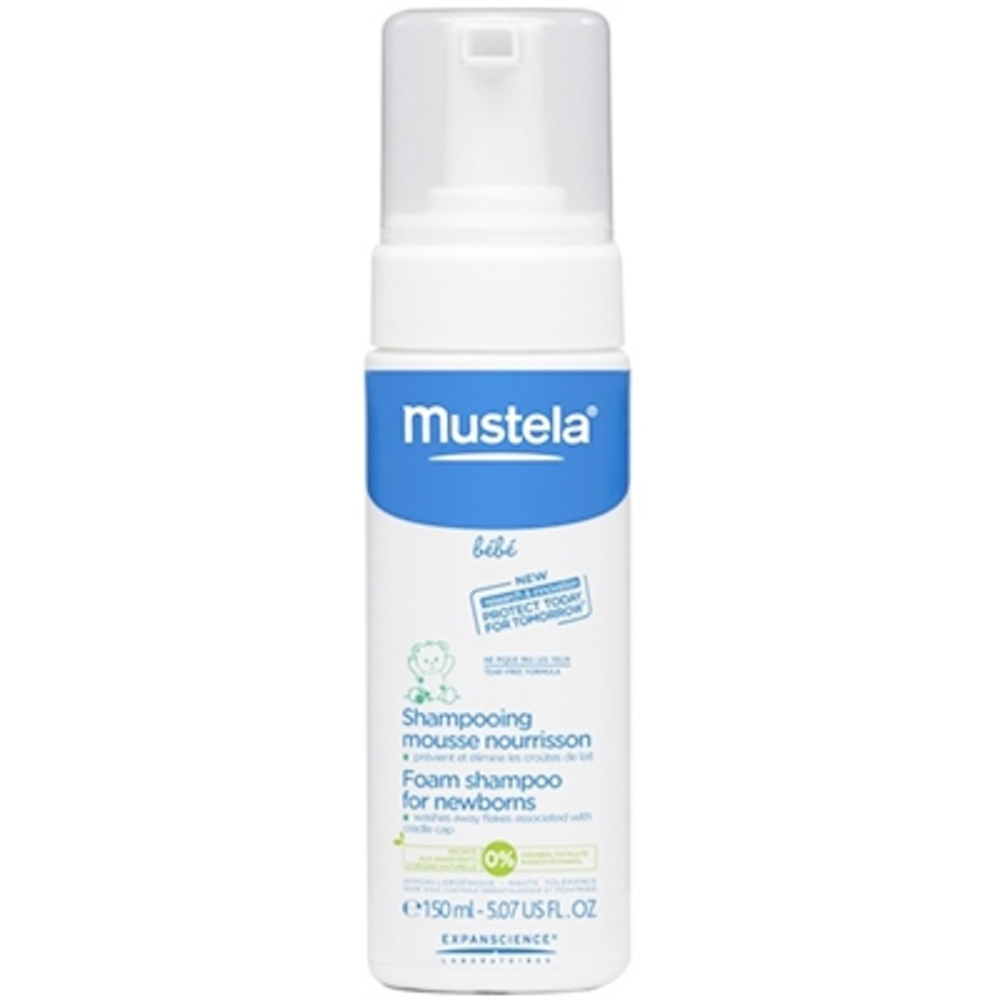 mustela shampooing mousse nourrisson 150ml 150 0 ml mustela achat au meilleur prix. Black Bedroom Furniture Sets. Home Design Ideas