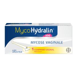 Myco cpr vag 500mg bt1 - hydralin -192284