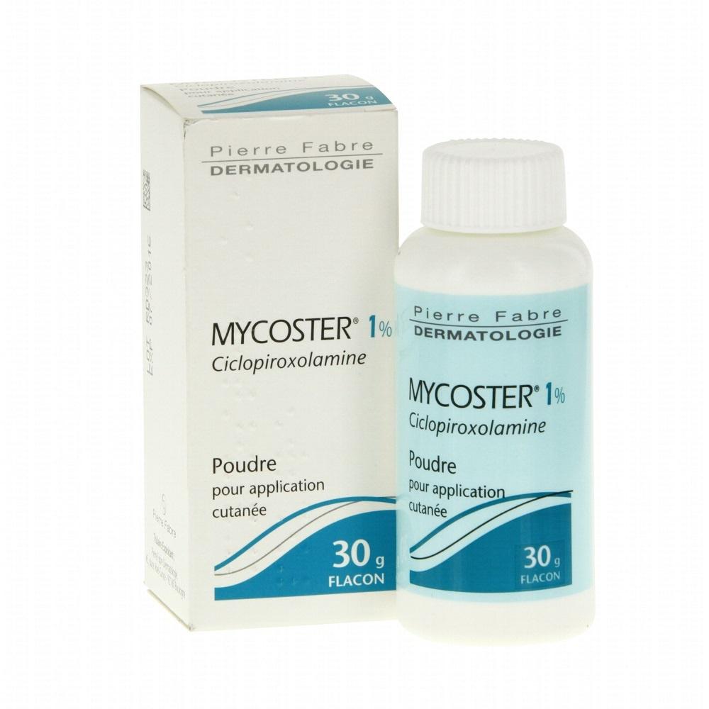 Mycoster 1% poudre - 30g Pierre fabre-193194
