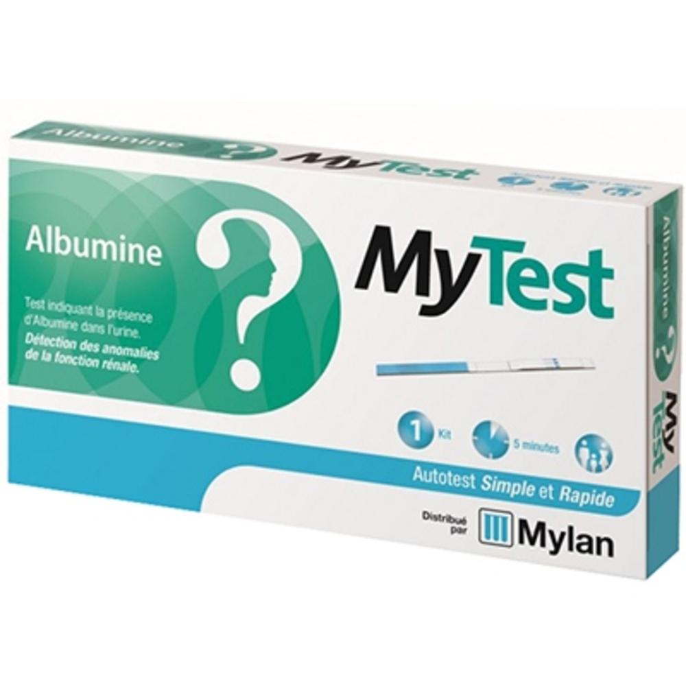 Mylan mytest autotest albumine - 1 kit - mylan -206486