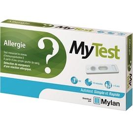 Mylan mytest autotest allergie ige test - 1 kit - mylan -206205