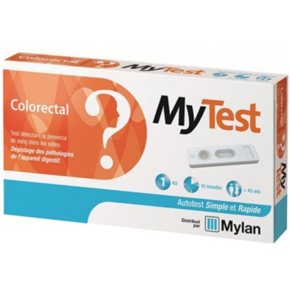 Mylan mytest autotest colorectal - 1 kit - mylan -206488