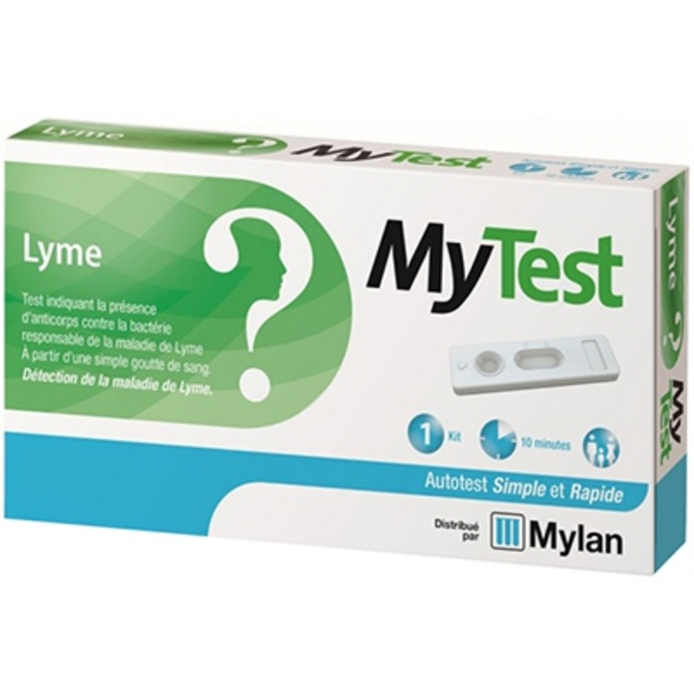 Mylan mytest autotest lyme - 1 kit - mylan -206491