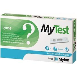 Mytest autotest lyme - 1 kit - mylan -206491