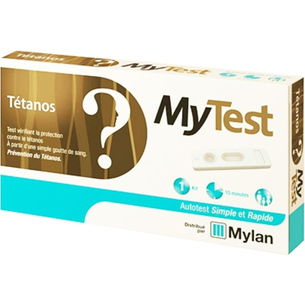 Mytest tétanos - 1 kit Mylan-206208