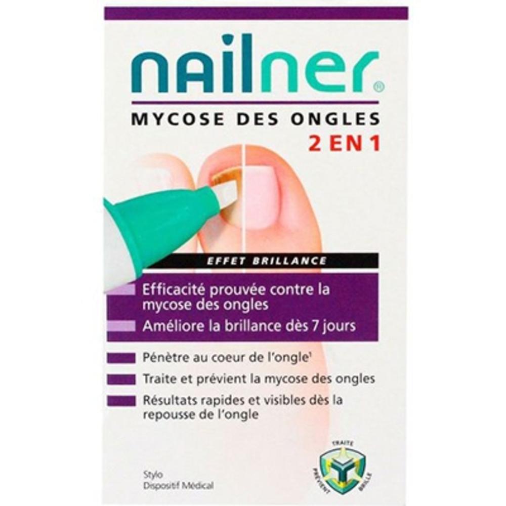 Nailner mycose des ongles stylo effet brillance - nailner -213991