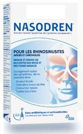 Nasodren spray pour les rhinosinusites - 50.0 ml - nasodren - bional médical -138896