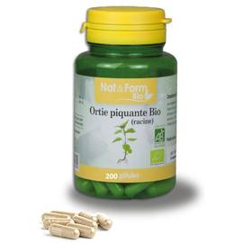 Nat & form bio ortie piquante bio 200 gélules - nat & form -221123