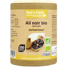 Nat & form eco ail noir bio 200 gélules - nat & form -221167