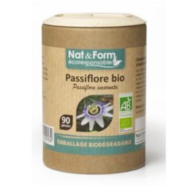 Nat & form ecoresponsable passiflore bio 90 gélules - nat & form -197941